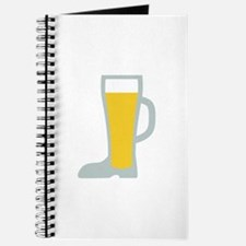 Boot Beer Glass Journal