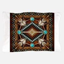 Native American Style Tapestry 1 Pillow Case