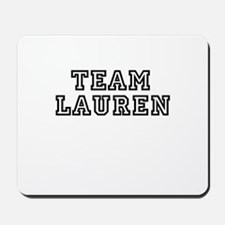 TEAM LAUREN Mousepad