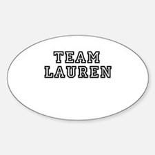 TEAM LAUREN Oval Decal