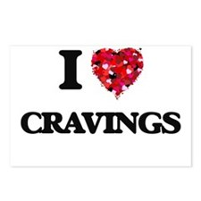 I love Cravings Postcards (Package of 8)