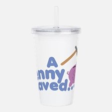 A Penny Saved Acrylic Double-wall Tumbler