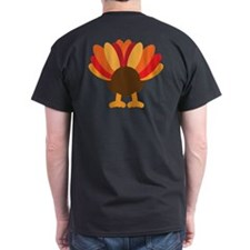 Turkey Face, Gobble Gobble Gobble Funny Butt Thank