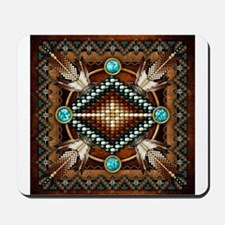 Native American Style Tapestry 1 Mousepad