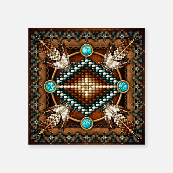Native American Style Tapestry 1 Sticker