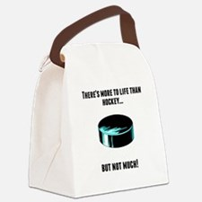 Theres More To Life Than Hockey Canvas Lunch Bag