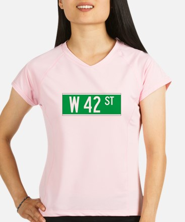 W 42 St., New York - USA Performance Dry T-Shirt