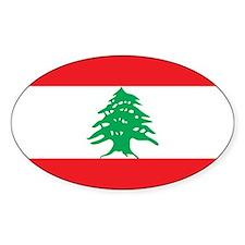Flag of Lebanon Decal