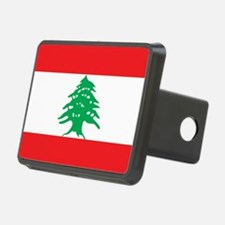Flag of Lebanon Hitch Cover
