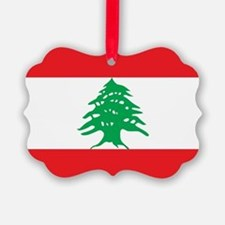 Flag of Lebanon Ornament