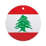 Lebanon Round Ornaments