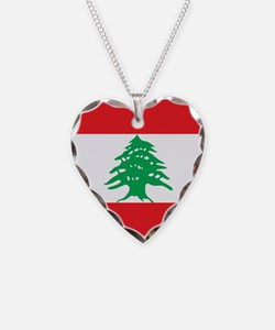 Flag of Lebanon Necklace
