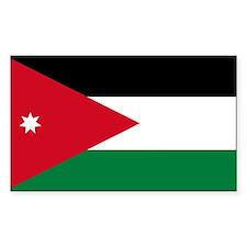 Flag of Jordan Decal
