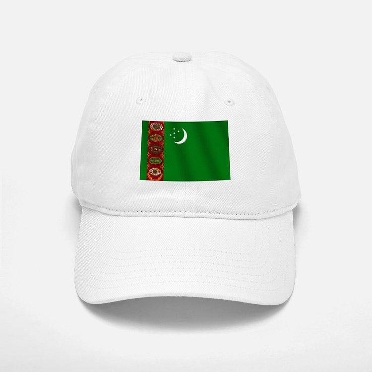 Flag of Turkmenistan Baseball Baseball Cap