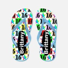 Wonderful 16th Flip Flops