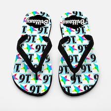 16th Super Star Flip Flops
