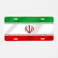 Flag of Iran Aluminum License Plate