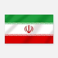 Flag of Iran Rectangle Car Magnet