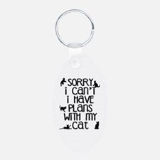 Sorry - Plans With My Cat Keychains