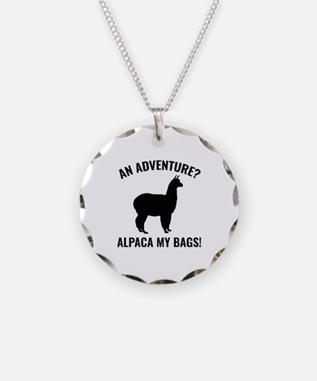 Alpaca My Bags Necklace