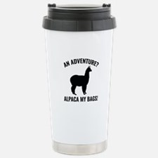 Alpaca My Bags Ceramic Travel Mug