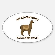 Alpaca My Bags Decal