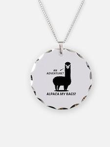 Alpaca My Bags Necklace