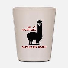Alpaca My Bags Shot Glass