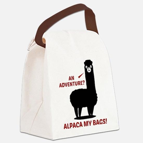 Alpaca My Bags Canvas Lunch Bag