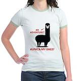 Alpaca Jr. Ringer T-Shirt