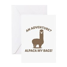 Alpaca My Bags Greeting Card