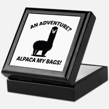 Alpaca My Bags Keepsake Box