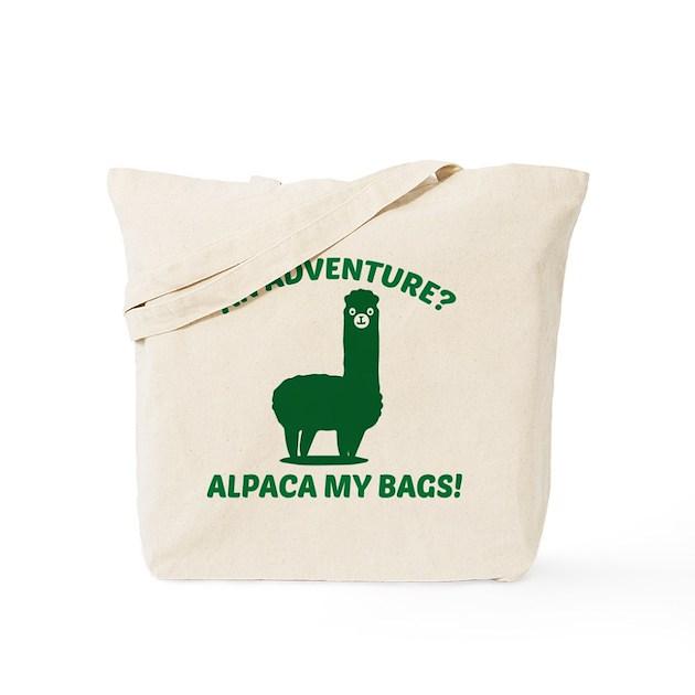 Alpaca My Bags Tote Bag by AmazingVision