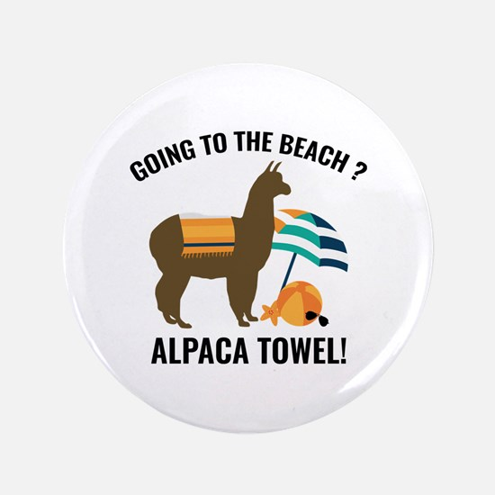 "Alpaca Towel 3.5"" Button (100 pack)"