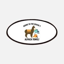 Alpaca Towel Patches
