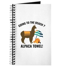 Alpaca Towel Journal