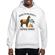Alpaca Towel Jumper Hoody