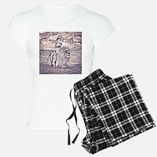 Beauty and Lion Pajamas