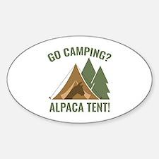 Alpaca Tent Decal