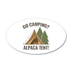 Alpaca Tent 22x14 Oval Wall Peel