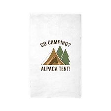Alpaca Tent 3'x5' Area Rug