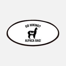 Go Hiking? Alpaca Bag! Patches