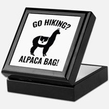 Go Hiking? Alpaca Bag! Keepsake Box