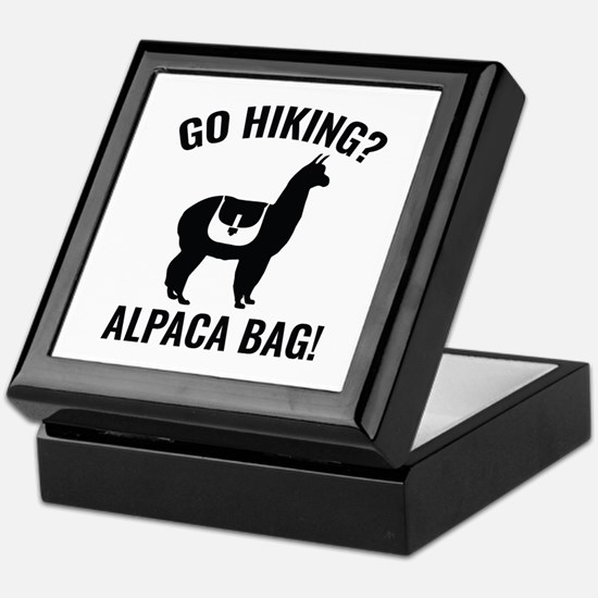 Go Hiking? Alpaca Bag! Keepsake Box