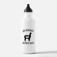 Go Hiking? Alpaca Bag! Water Bottle