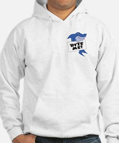 Two Sided Bite Me Shark Hoodie