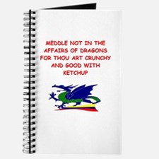 dragon humor on gifts and t-s Journal