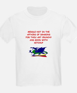 dragon humor on gifts and t-s T-Shirt