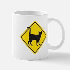 Cat Crossing Mugs