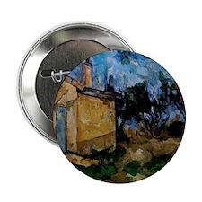 "Cezanne - Jourdan's Cottage 2.25"" Button"